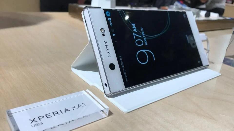 Kết quả hình ảnh cho Sony Xperia XA1