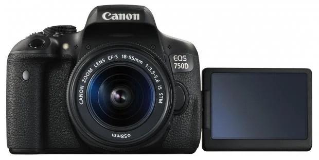 Canon EOS 750D LCD
