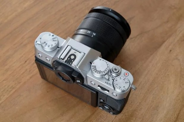 Fujifilm X-T10 dials