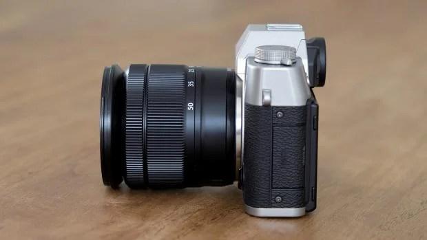 Fujifilm X-T10 side