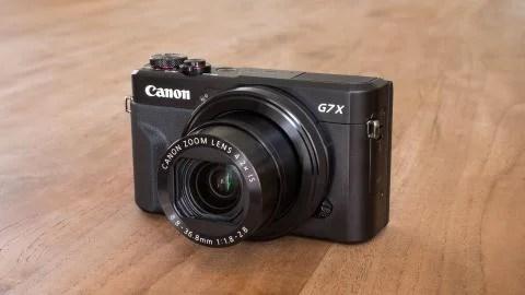 Canon G7 X II front