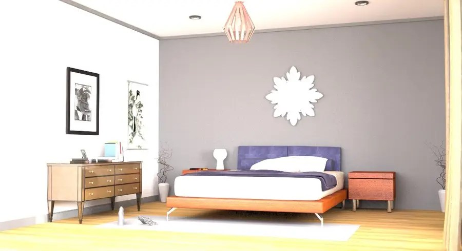 Entry 55 By Sahir75 For Main Bedroom 3d Render 3d Modelling Interior Design Image Freelancer