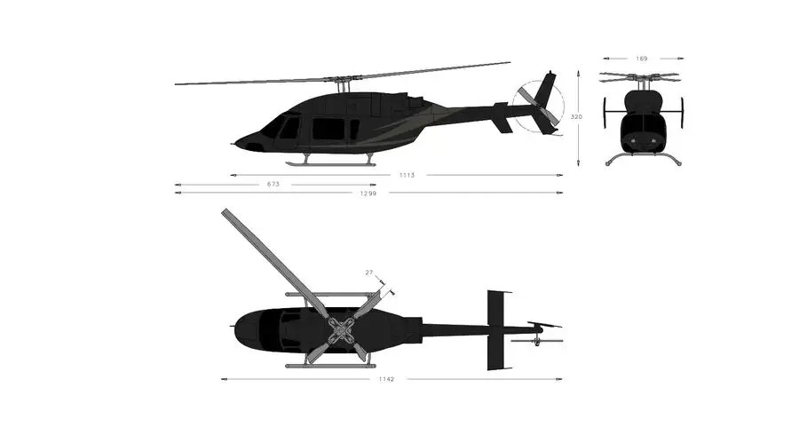 99+ Bell Says Latest Helicopter Was Designed 10 Times