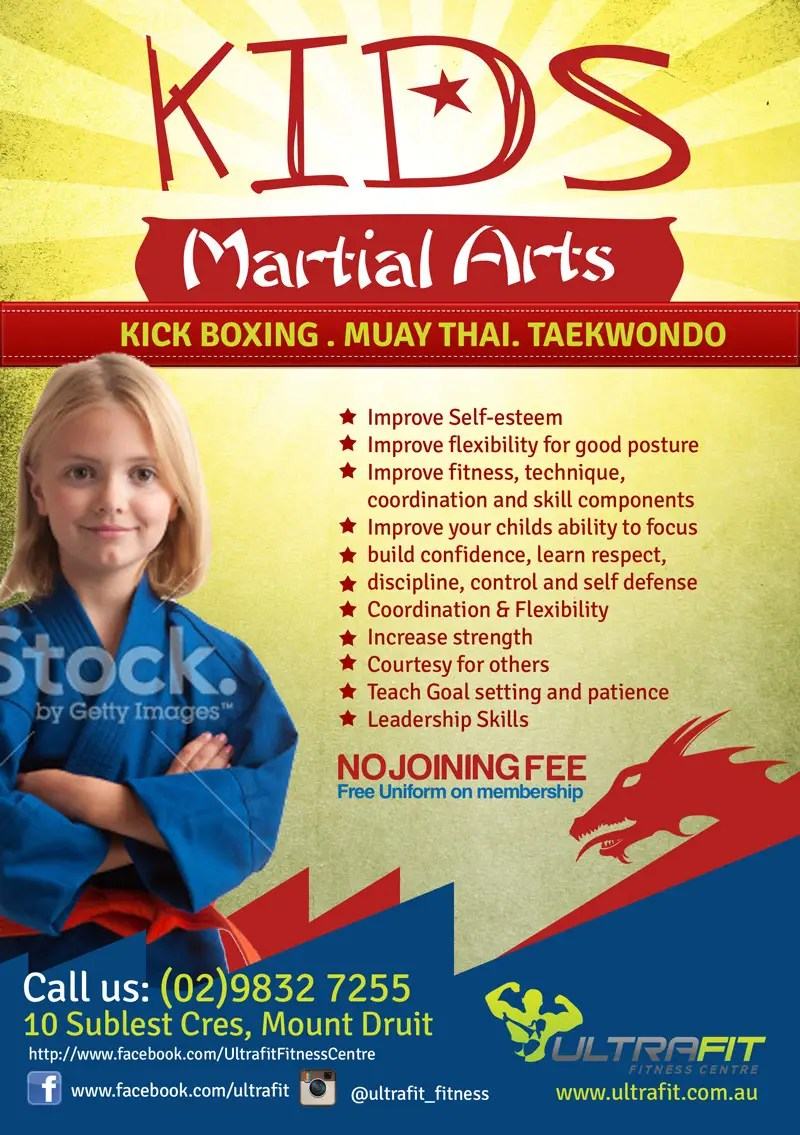Basic Martial Arts Flyers Dolap Magnetband Co