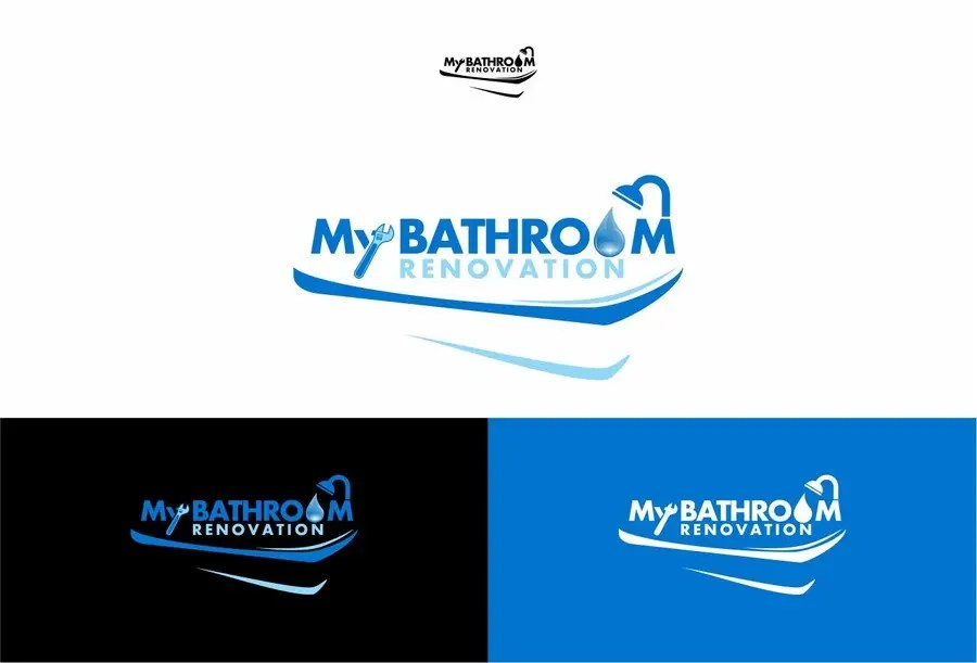 My Bathroom renovation logo  Freelancer