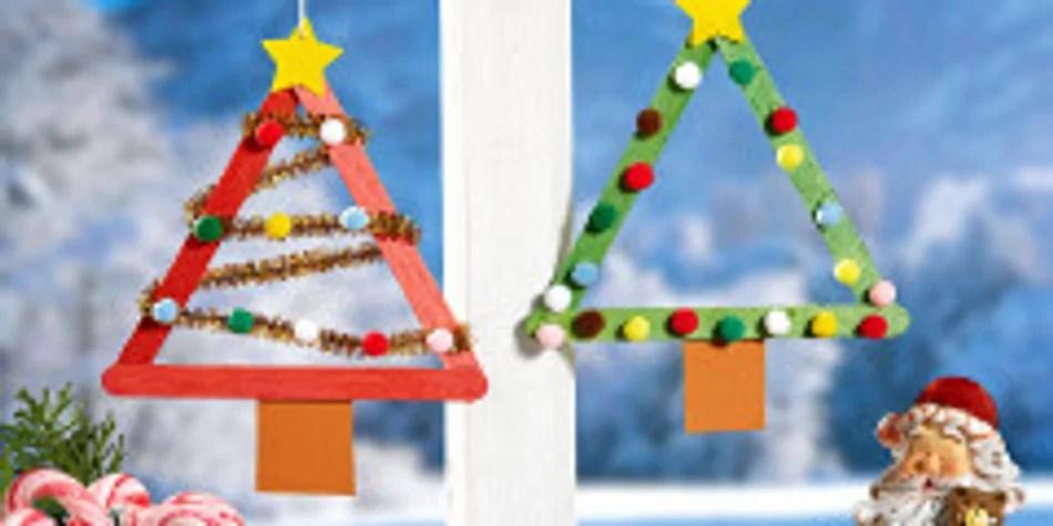 tannenbaum zum ausschneiden  weihnachtsbasteln mit