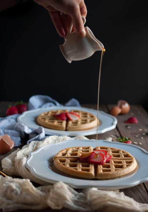Oat Flour Waffle Recipe
