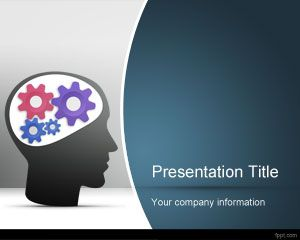 Thinking PowerPoint Template Free Powerpoint Templates