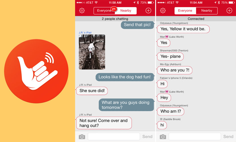 firechat App To Chat And Text With No Internet Connection Via Mesh Network without