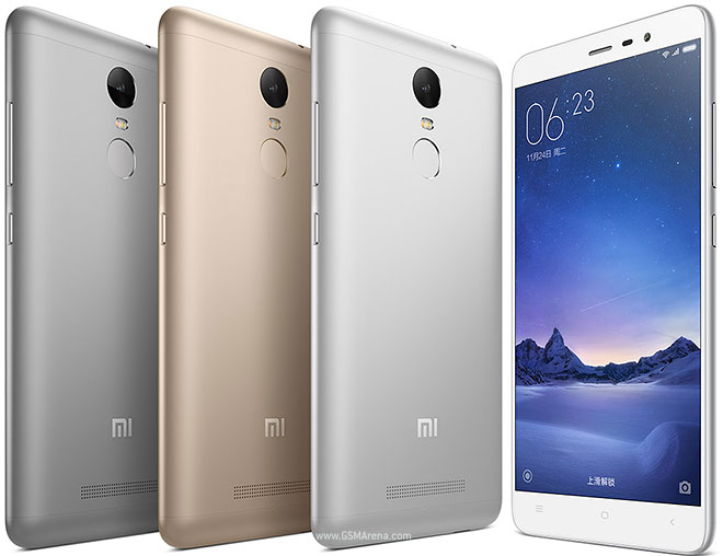 Xiaomi Redmi Note 3 MediaTek pictures official photos