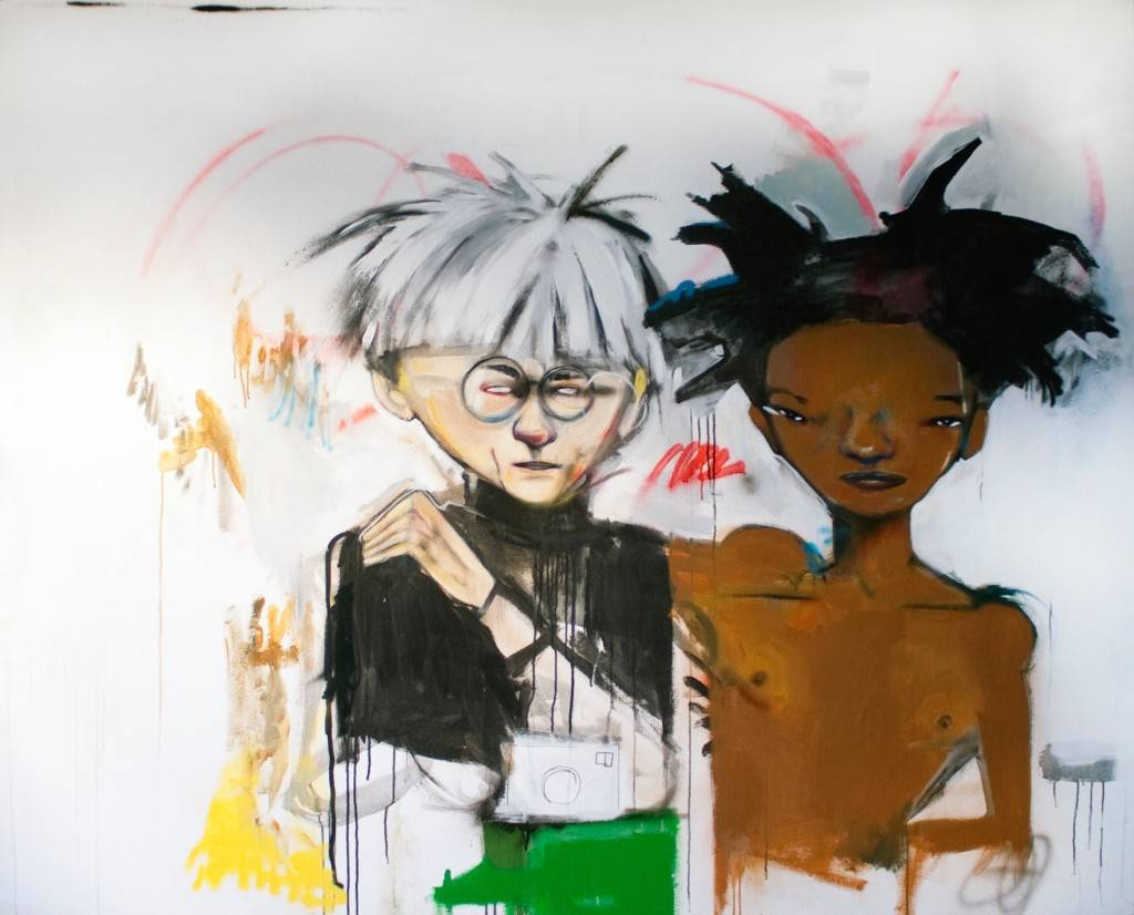 Hebru Brantley;Warhol and Basquiat