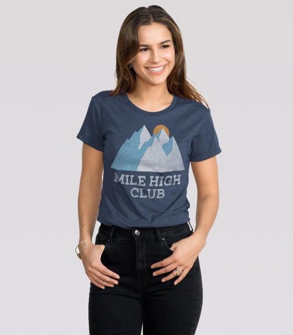 Mile High Club Women' T-shirt Headline Shirts