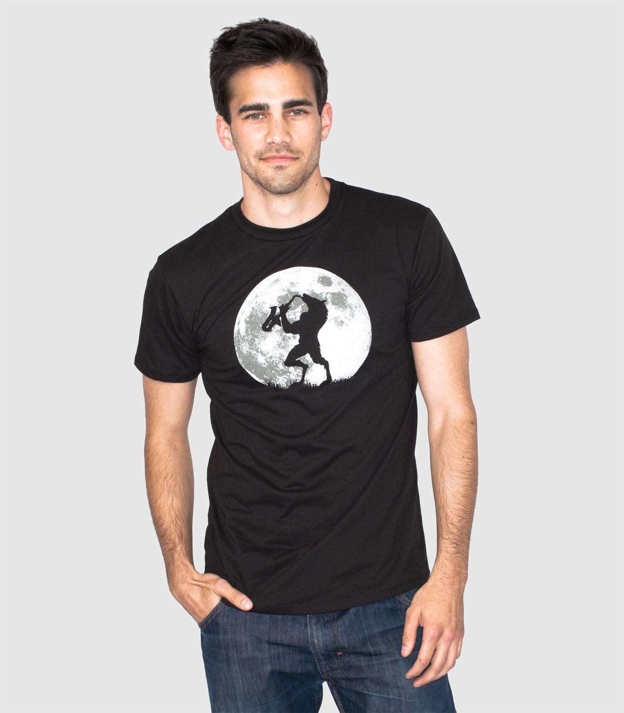 T Funny Shirt Full Moon