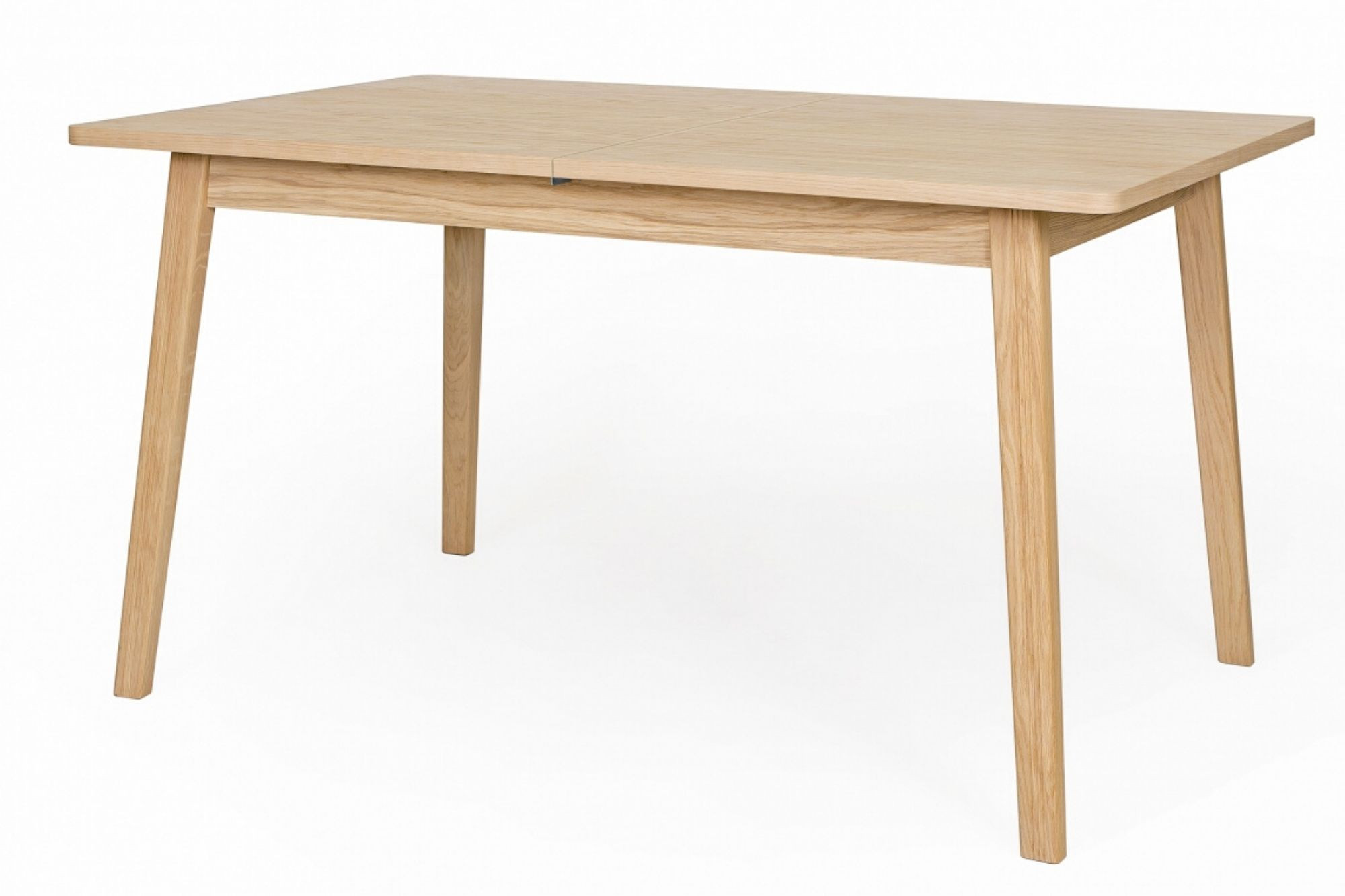 table scandinave extensible avec allonge centrale hellin