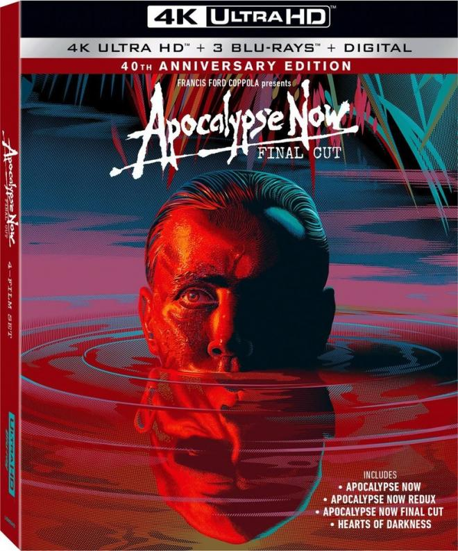 Apocalypse Now Streaming Vf : apocalypse, streaming, Apocalypse, (40th, Anniversary, Edition), Ultra, Blu-ray, Review, Digest