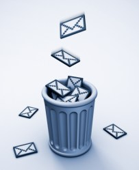 danger of spam, email archiving