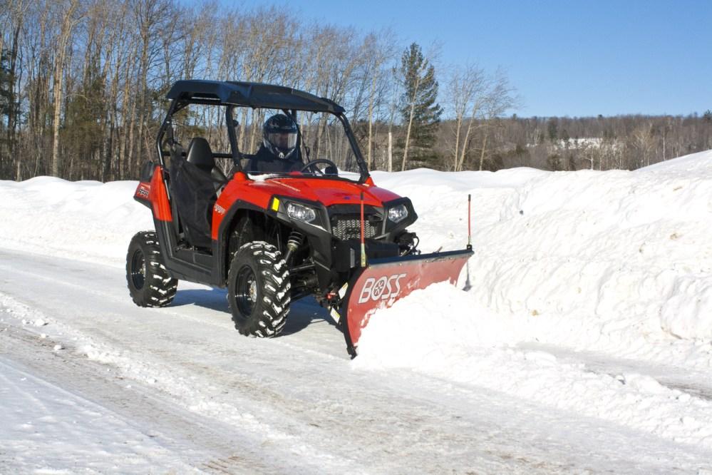 medium resolution of boss utv snowplow