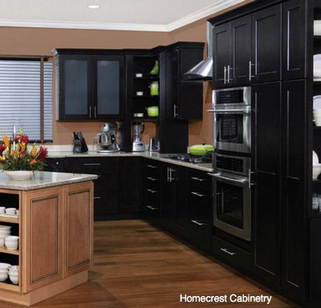 Black Kitchen Cabinets Fingerprints