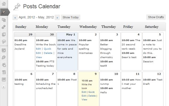 wordress_editorial_calendar