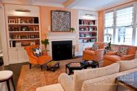 16 Chic Interiors: How to Decorate with Orange Rugs and ...