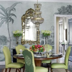 Striped Chair Covers Dining Rooms White Barrel 12 Chic Tablescapes & Enriched By Decorative Rugs