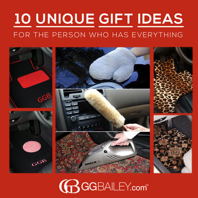 Gg Bailey S 10 Unique Gift Ideas For The Person Who Has