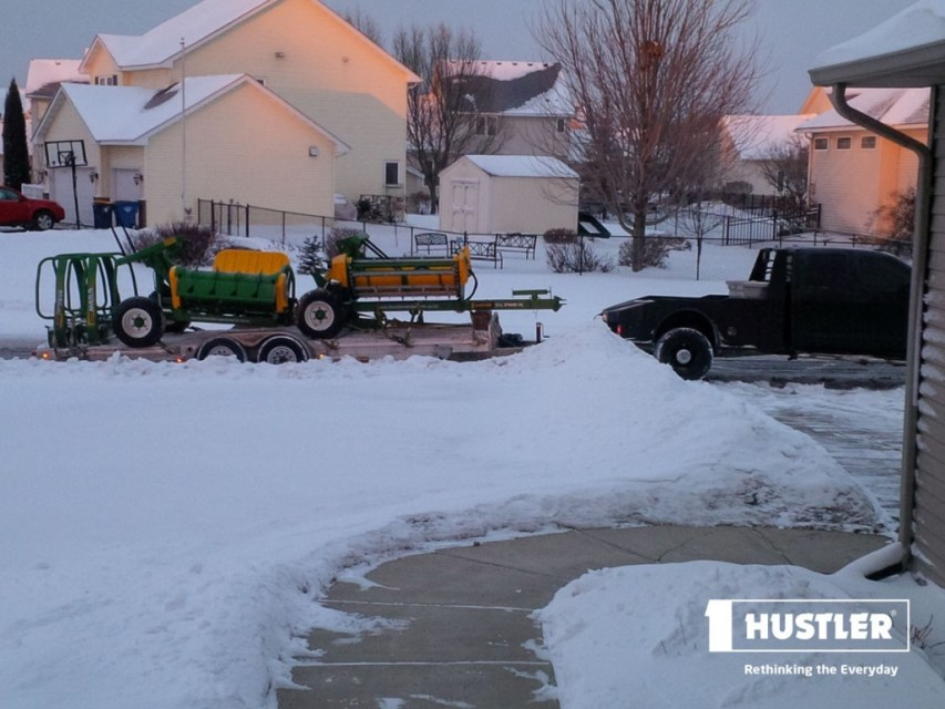 Another cold morning heading out for demonstrations in USA