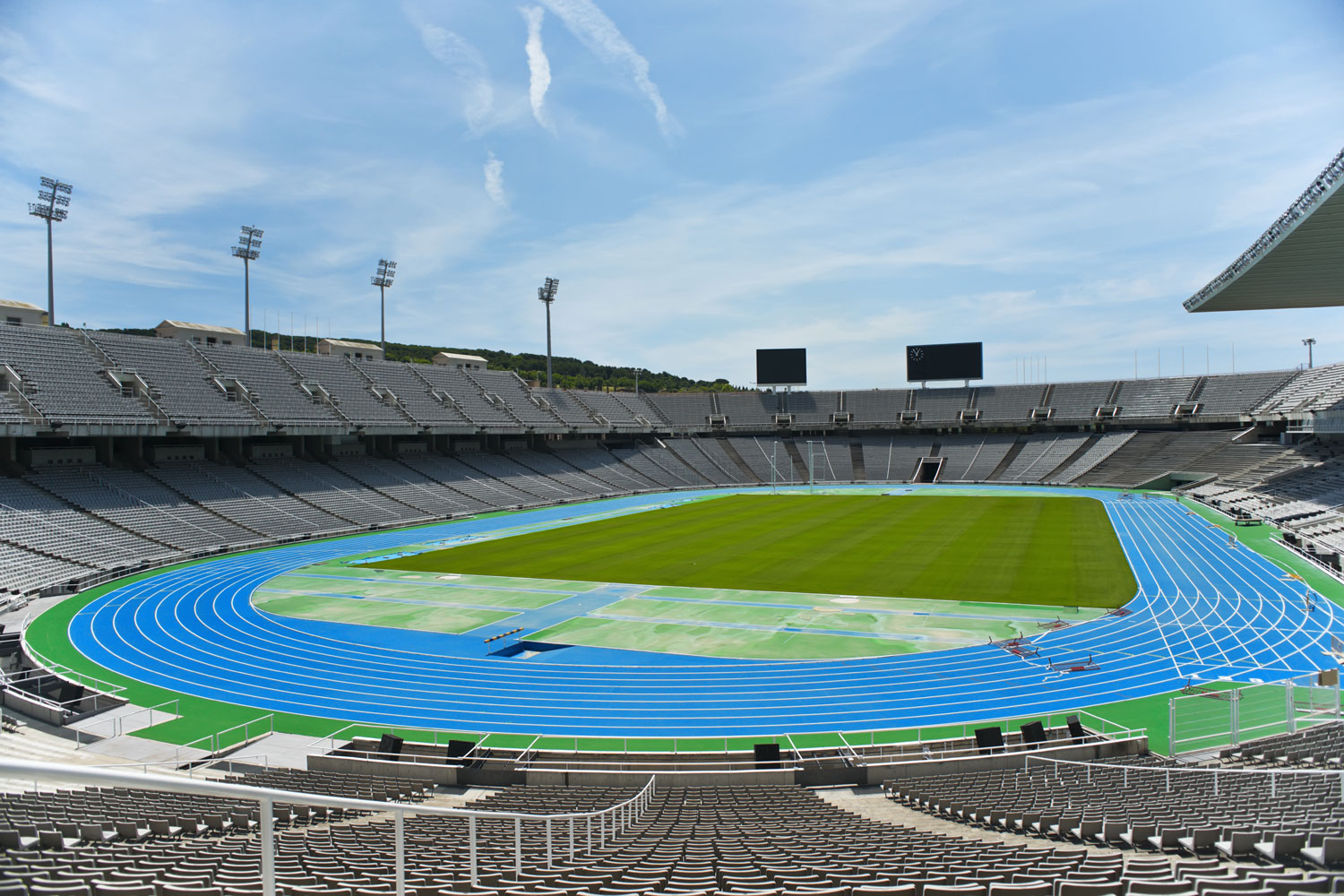 The Barcelona Olympic Stadium
