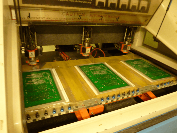 Cnc Printed Circuit Board Pcb Drilling Machine By Rey15315