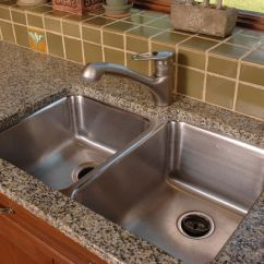 Kitchen Countertop Choices Aid Mixer Parts The Most Popular Sinks
