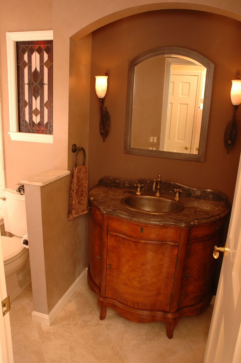 9 Great Design Ideas for Half Baths and Powder Rooms
