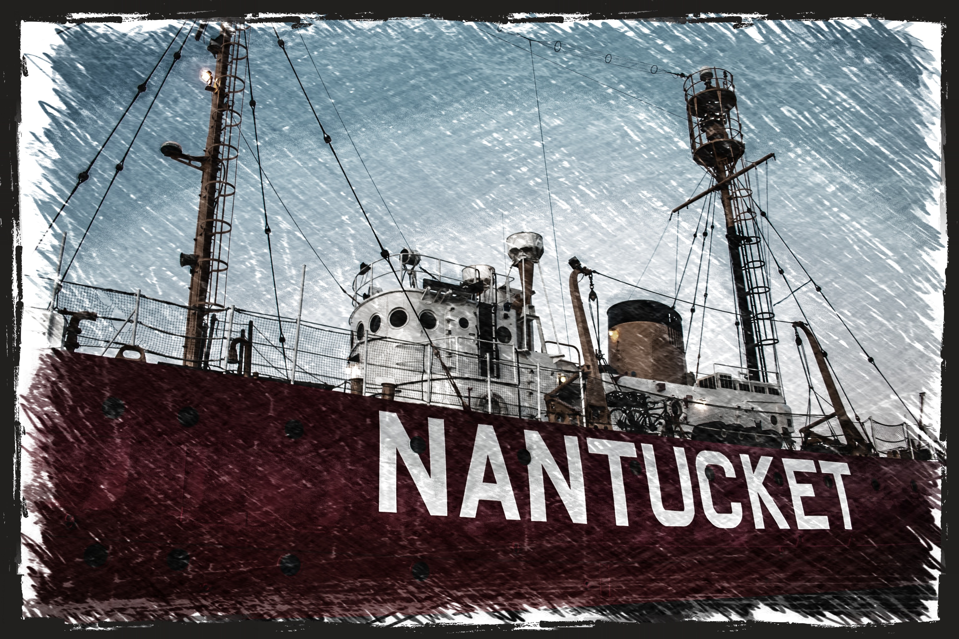 Nantucket Whaling Ship