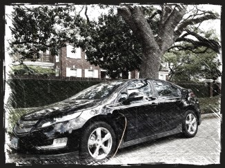 Our Electric Car at the SURGE HQ