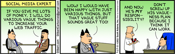 Image result for marketing dilbert