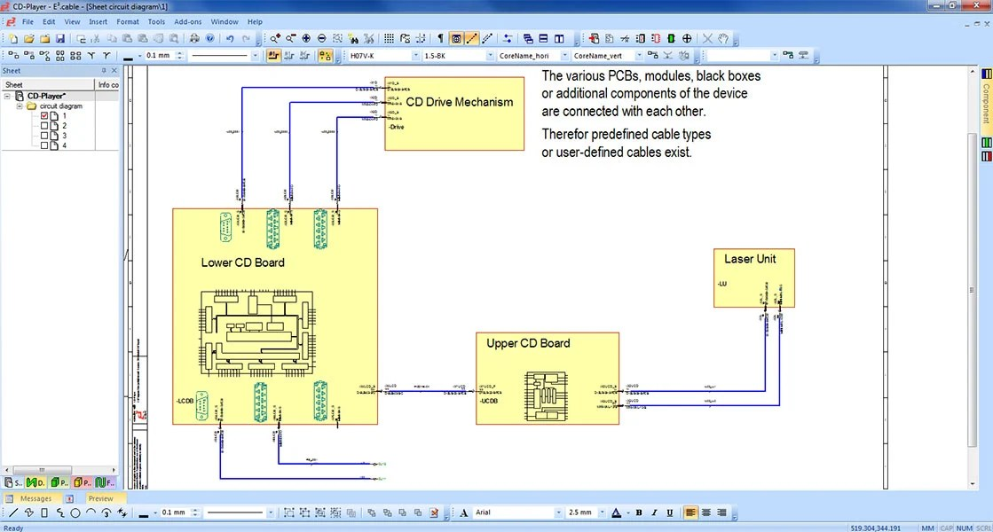 Fancy Electrical Schematic Software Open Source Inspiration ...