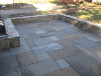 Patio Materials- The Cost of Bluestone Patios