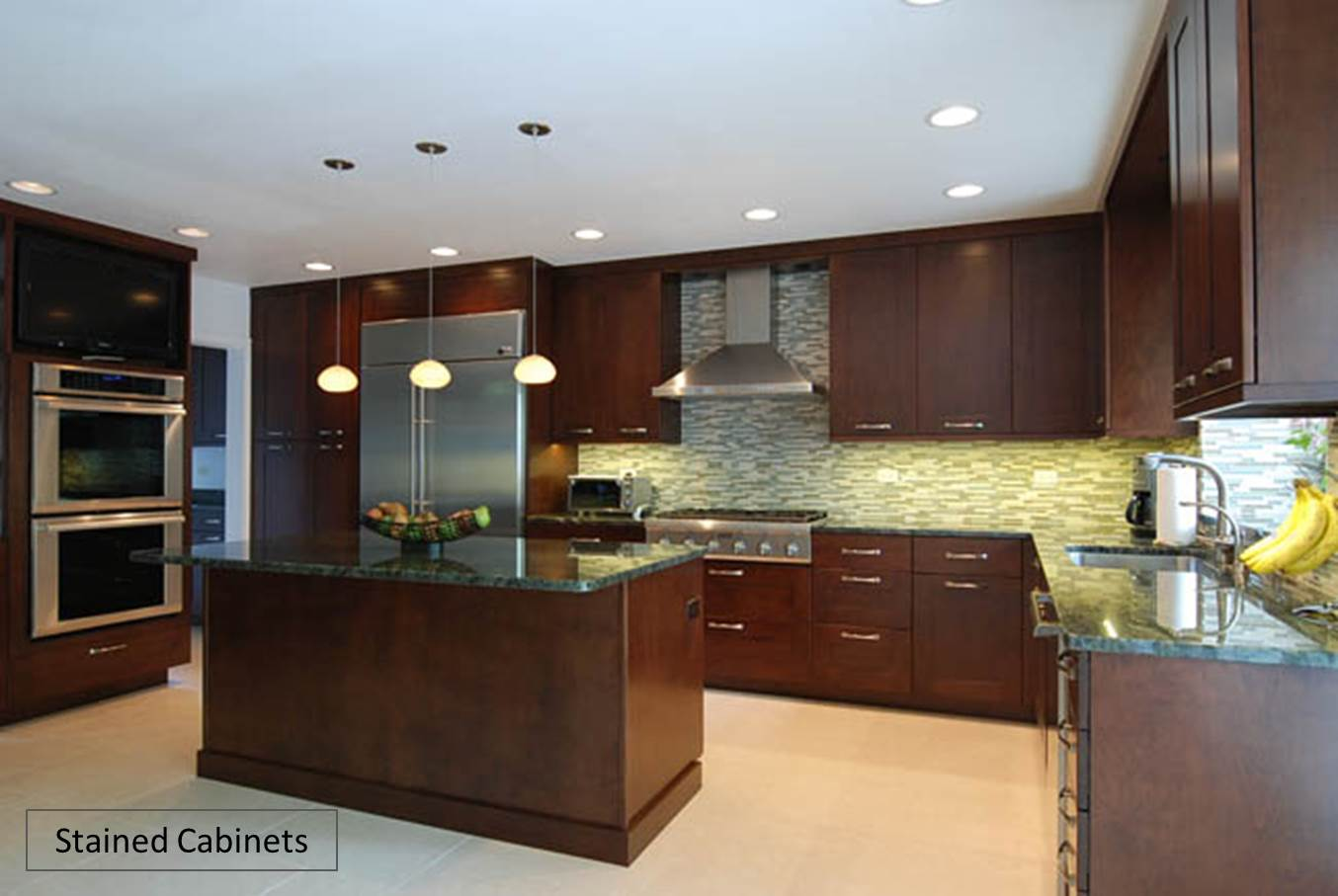 paint or stain kitchen cabinets counter height tables custom painted vs stained