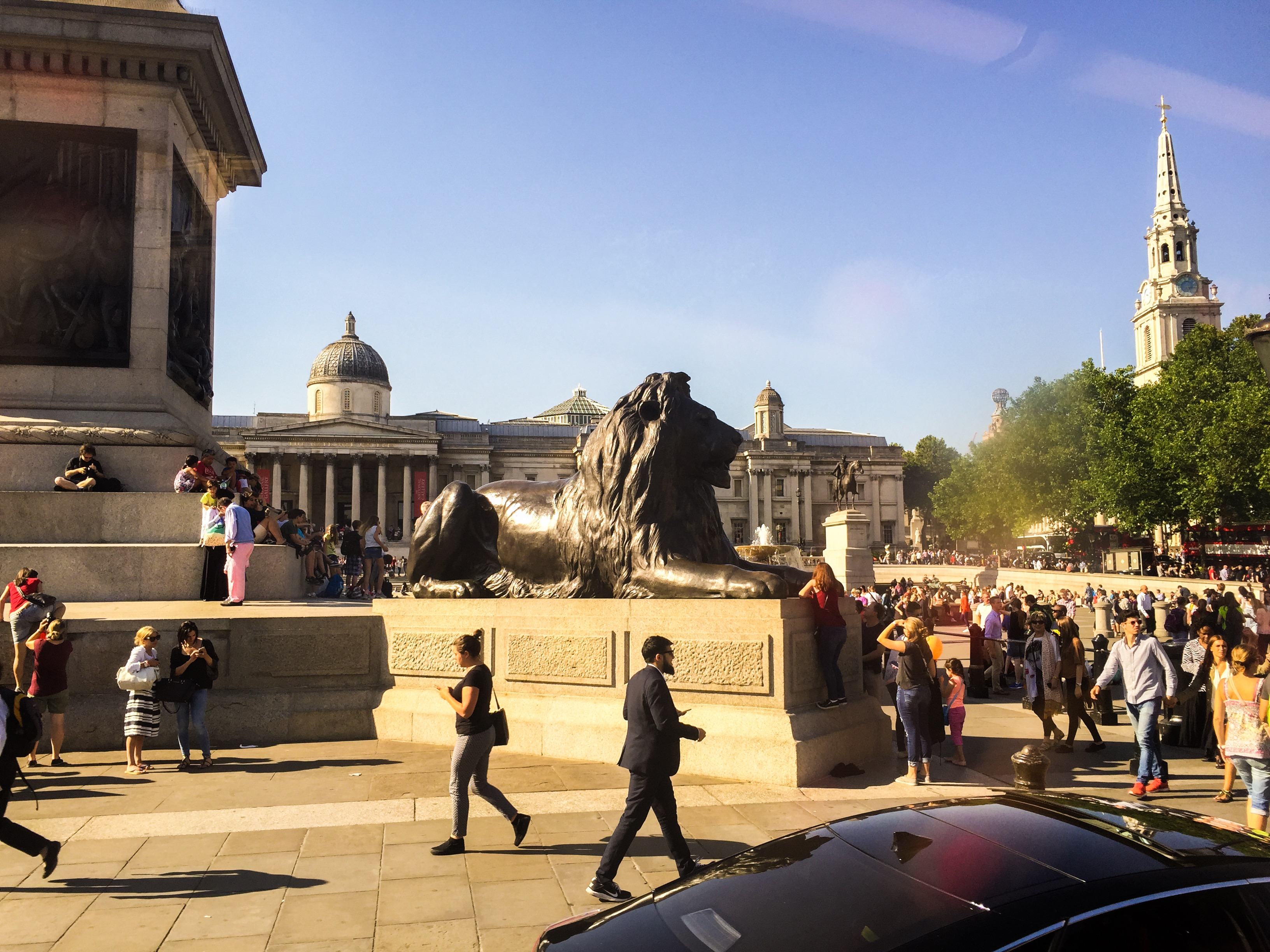 CAPAStudyAbroad_London_Summer2015_From_Sawyer_Coffey_-_Trafalgar_Square