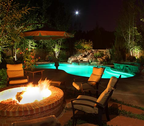 Hardscape Lighting Integral Element Of Your Outdoor