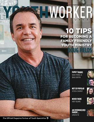 POLL Doug Fields on the Cover of Youth Worker Journal  DYM Blog