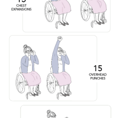 Chair Exercises For Seniors In Wheelchairs Rocking Chairs Lowes How To Exercise With Other A Wheelchair Yoga Or Is Another Great Way Do Flexibility While Sitting Senior Living