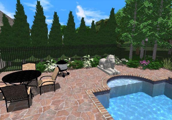 inground pool landscaping 101