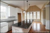 Raleigh Custom Kitchen Color Trends: Light Cabinets, Dark ...