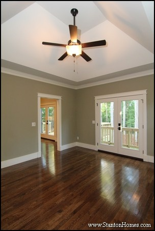 Raleigh Custom Home Builder - Types of moulding