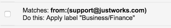 Business Finance Email Filter for your Inbox