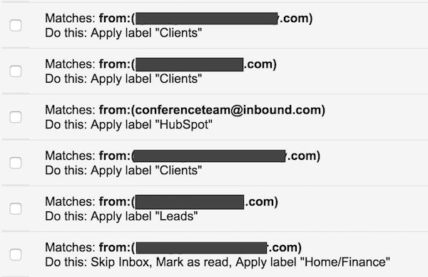 9 Inbox Filters for Marketers - Gray MacKenzie Example