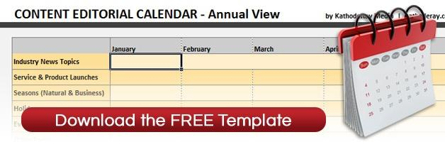 Free Content Calendar Template - Download Now!