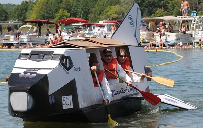 Cardboard And Duct Tape Boat Plans