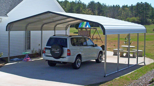 Customize A Barn Style Carport And Get Free Delivery And Setup