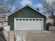 2 Car Detached Garage Plans